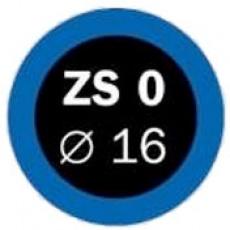 záplaty FERDUS ZS 0 pr.16mm balení 100ks
