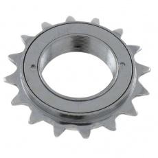 kolečko volnoběžné 18z stříbrné
