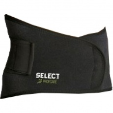 Lumbar support with Select 6411 brace