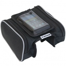 Bicycle shoulder bag with a phone case Vizari k-076