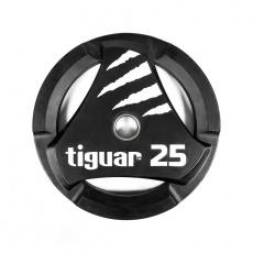 Olympic plate tiguar PU 25 kg