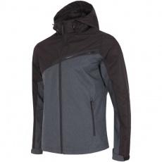 Jacket 4f M H4L18-KUM005 dark gray melange