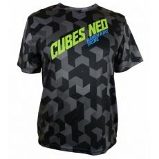 dres krátký pánský HAVEN CUBES NEO černo/zelený