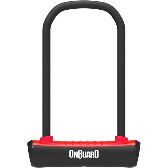 zámek ONGUARD podkova 115x230x11mm červená