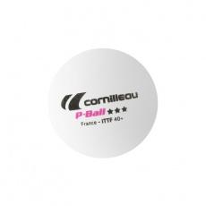 Cornilleau table tennis balls P-BALL ITTF white 3 pcs.