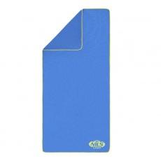 Froté ručník NILS Camp NCR01 tm.modrý/zelený