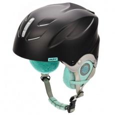 Lumi ski helmet black / mint