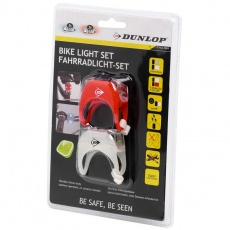 Bicycle Lights Set Duracell Front + Rear 2 Led 41792