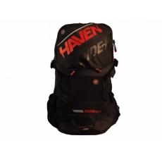 batoh HAVEN RIDE-KI 22l černo/červený bez rezervoáru s chráničem páteře