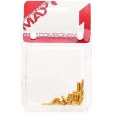 koncovka lanka MAX1 Alu zlatá balení 20ks