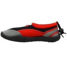 Aqua-Speed Jr. neoprene beach shoes red