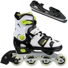 Roller skates Action PW-126B-102 2in1