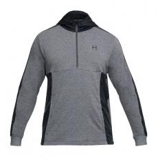Sweatshirt Under Armor Microthread Terry M 1310585-019 gray-black