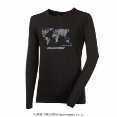 """Progress OS VANDAL """"SVET"""" pánske tričko s dl- rukávom s bambusom"""