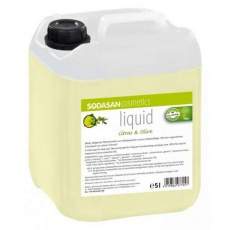 mýdlo tekuté citron-oliva SODASAN 5 l