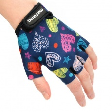 Cycling gloves Meteor Jr 26172-26174