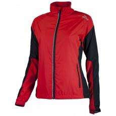 bunda dámská Rogelli ELVI červeno/černá