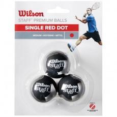 Squash balls Staff Premium Balls 3 pcs