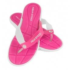 Aqua-Speed Bali slippers pink-white 05 479