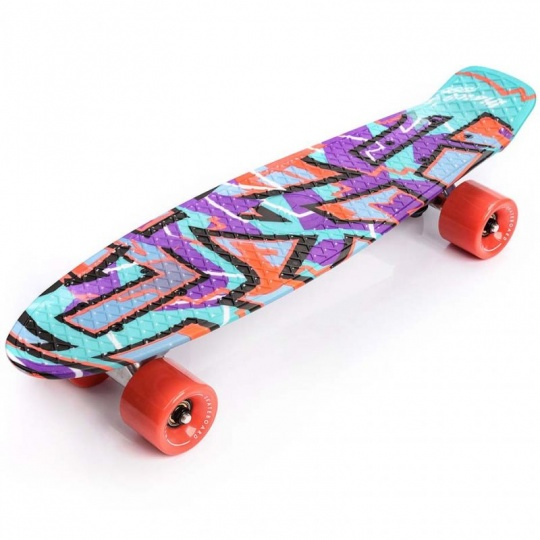 Meteor Multicolor Graffiti 22604 skateboard