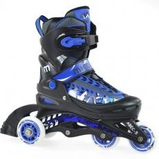 Roller skates Mico Funny Blue Jr PW-117J
