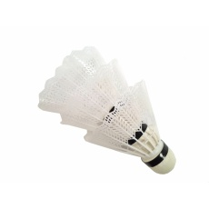 košíčky badminton Extra bílé 3ks