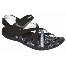 boty dámské LOAP CAIPA sandály černo/bílé