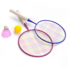 Badminton set Meteor Junior 2 rackets + shuttlecock + ball
