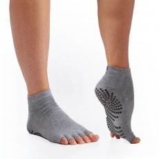 GAIAM fingerless anti-slip yoga socks