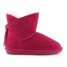 BearPaw Mia Pom Berry Shoes