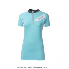 dres krátký dámský Progress PERSEA sv.modrý