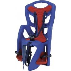 sedačka zadní na nosič modro/červená