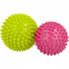 Allright massage balls 2pcs FIAPMGV green and purple