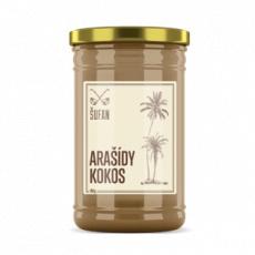 Arašídy - Kokos 60 / 40 mělněné 950g (Arašídovo-kokosový krém)