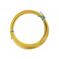 bowden brzdový 5mm 2P 10m žlutý role