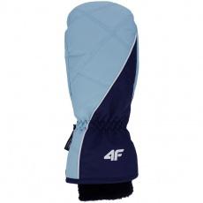 Ski gloves 4F W H4Z19 RED002 48S