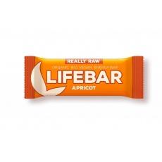 tyčinka Lifefood Lifebar Bio Raw meruňková