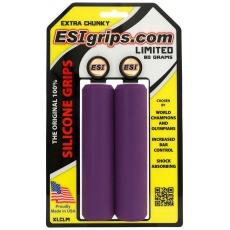 gripy ESI Chunky Extra purpurové