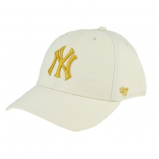47 Brand New York Yankees MVP Cap B-MVPSP17WBP-NTD beżowe One size