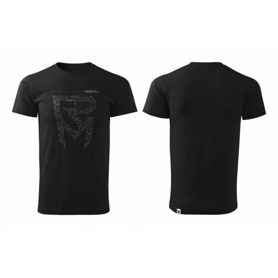 tričko ROCK MACHINE Kristýna Havlická Signature černé vel.L