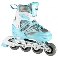 Dětské kolečkové brusle NILS Extreme NA10602 modré