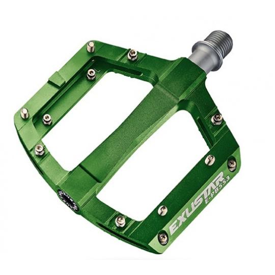 pedály BMX EXUSTAR PB553 zelené