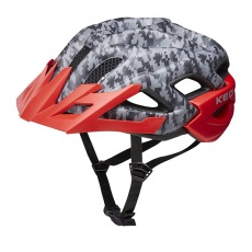 přilba KED Status Junior S camouflage anthracite red 49-54 cm