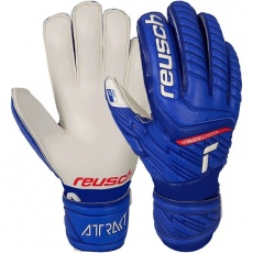 Goalkeeper gloves Reusch Attrakt Grip Finger Support Jr 51 72 810 4011