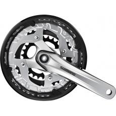 kliky Shimano Alivio FC-T4010 3x9 48/36/26z 175mm stříbrné servisní balení
