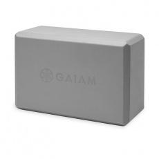 Gray yoga cube with foam 61350