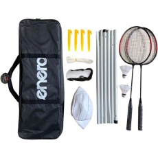 Badminton and satchel set Enero 6in1