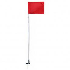 corner flag embedded
