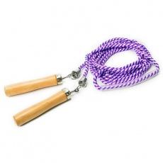 purple skipping rope