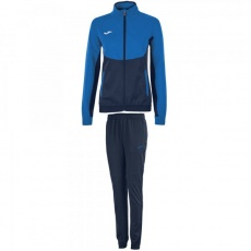 TRACKSUIT ESSENTIAL MICROFIBER NAVY BLUE -ROYAL BLUE WOMEN